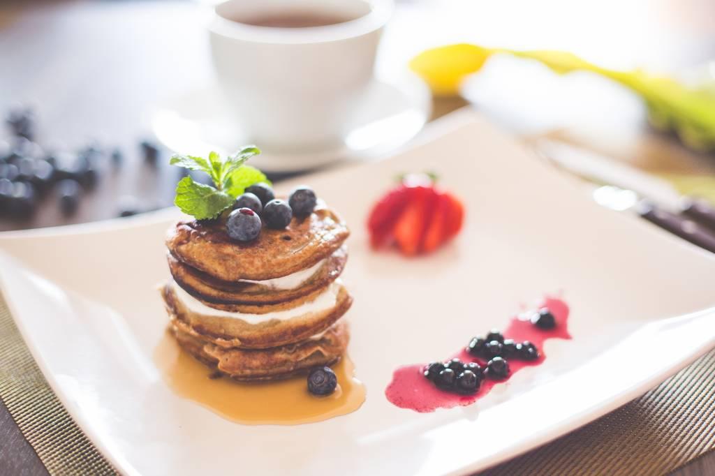 pancake alla banana di perdita di peso